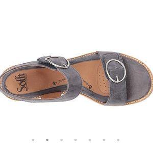 Söfft Women's Sandal Blue Nerissa Leather